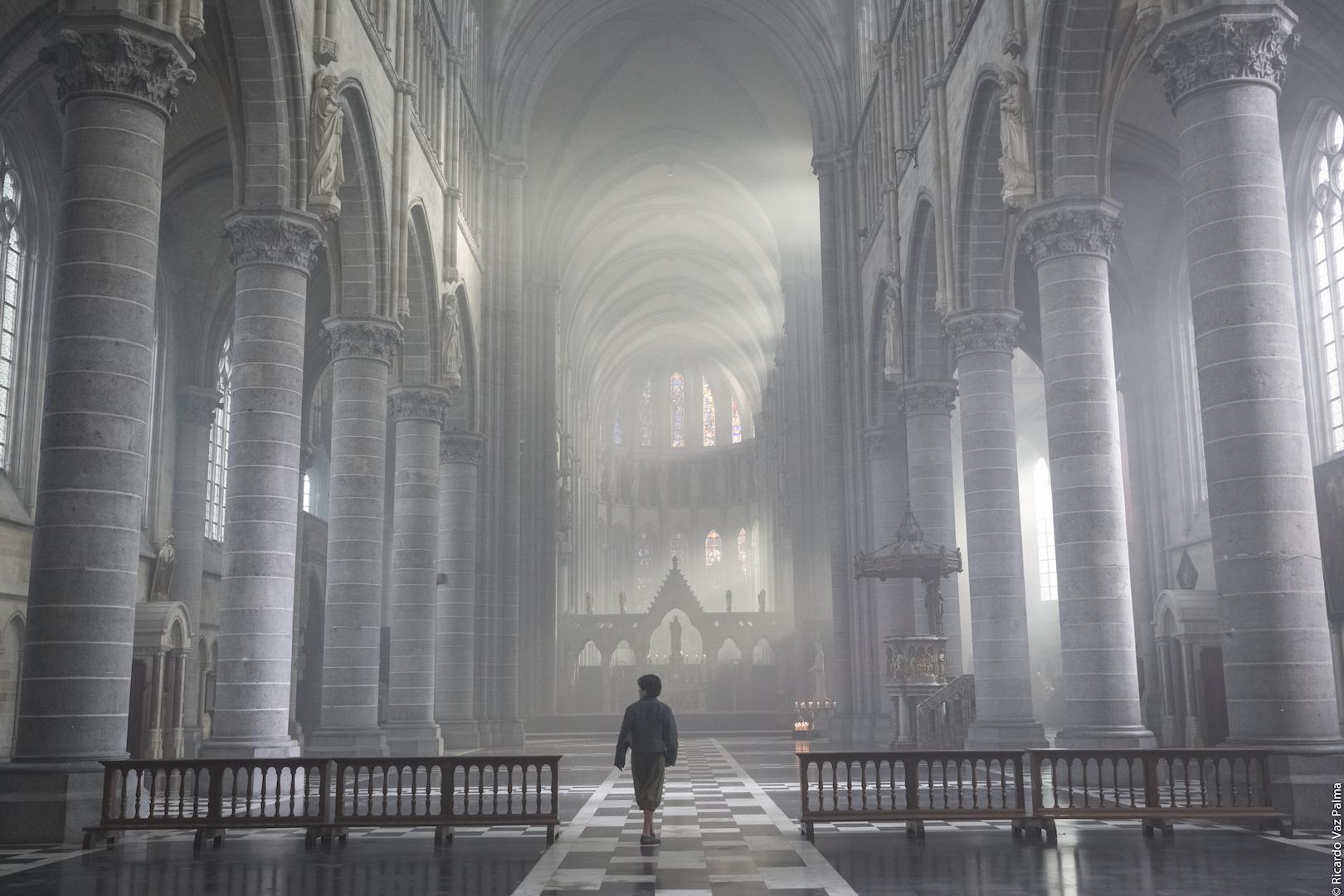 Storm-enters-church
