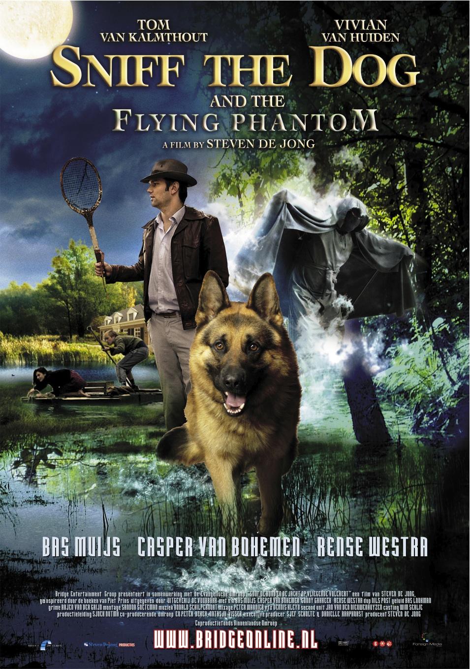 sniff the flying phantom poster 1