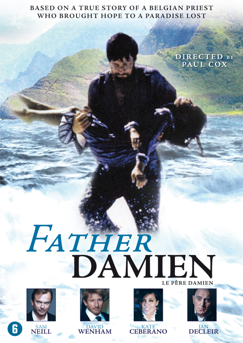 3248 FATHER DAMIAN DVD INLAY SCHETS