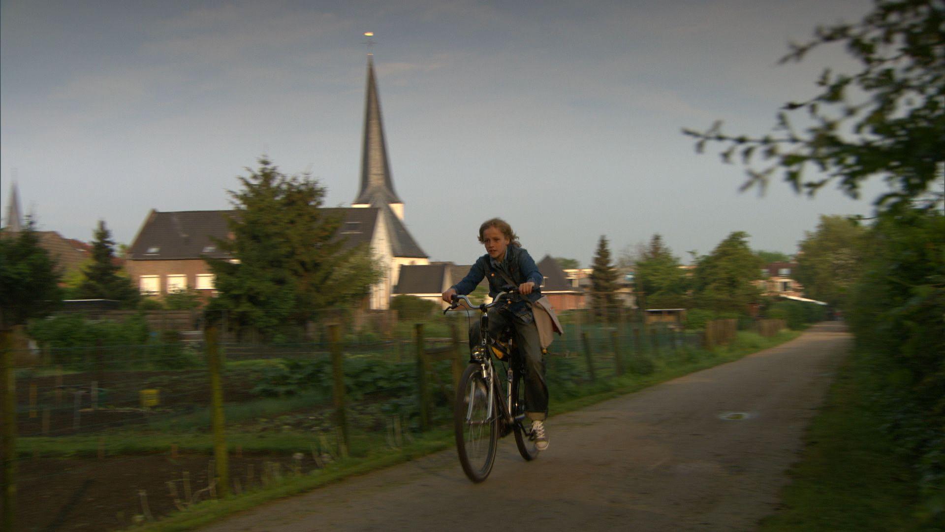 Koen fietst