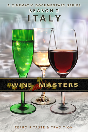 Masters of Wine Poster season 2 Italy poster