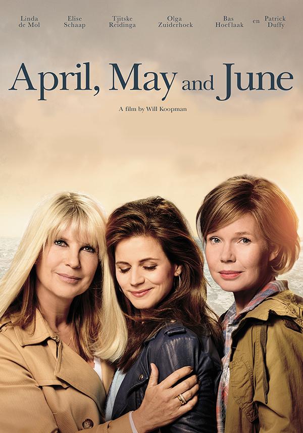 April May and June